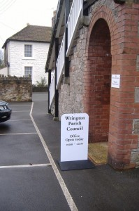 Wrington Parish Council offices